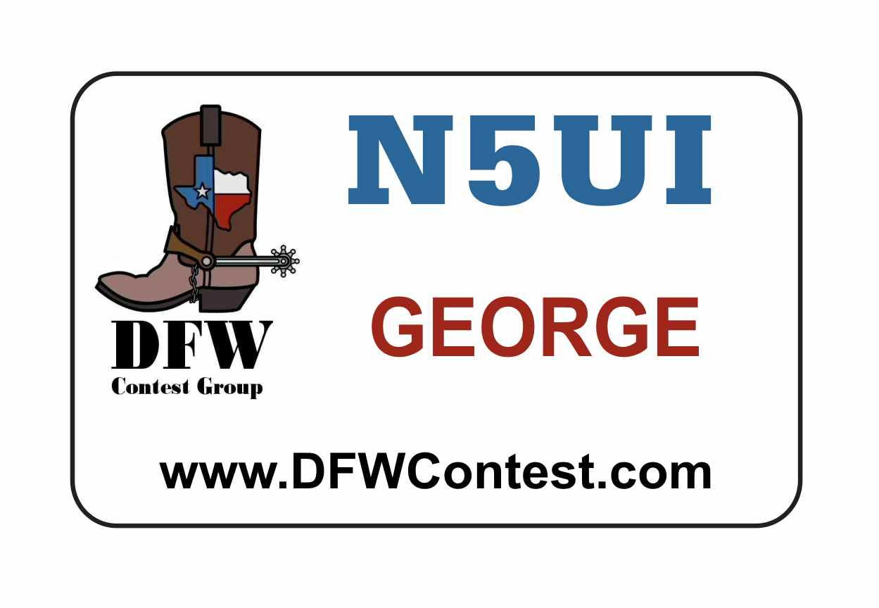 DFW Contest Group Name Badge