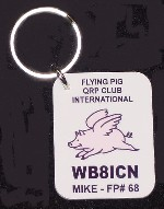 Flying Pigs Keychain
