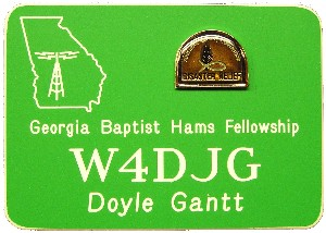 Georgia Baptist Disaster Relief - Ga. BEARS Badge