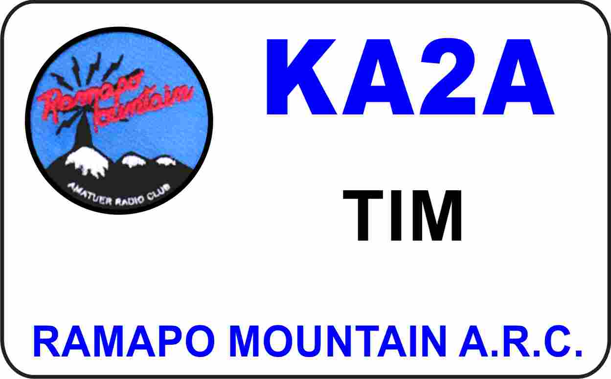 Ramapo Mtn ARC Badge